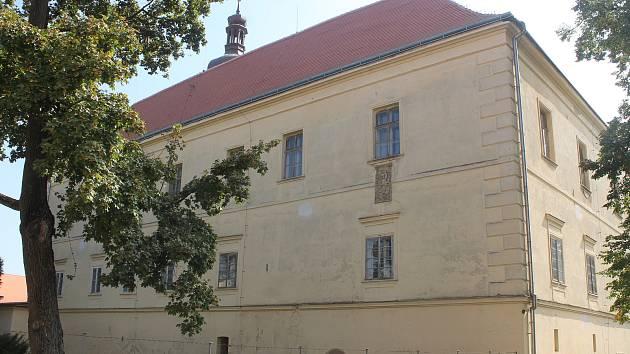 Zámek v Ivanovicích na Hané.