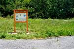 Ve vyškovských místních částech Rychtářova a Hamiltony rozmístili pracovníci města nové informační panely pro turisty.