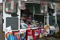Také na psy z vyškovské záchytné stanice mysleli v období adventu lidé, kteří přispěli věcnými dary v dobročinné sbírce vyškovského zooparku.