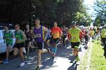 Prvním běžeckým závodem na Vyškovsku po zdravotní karanténě byl Běh Drahanskou vrchovinou v Olšanech.
