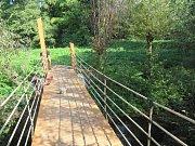 První etapa rousínovského parku Hrubé Kusy je u konce. Kromě odpočinku slouží i jako naučná stezka.