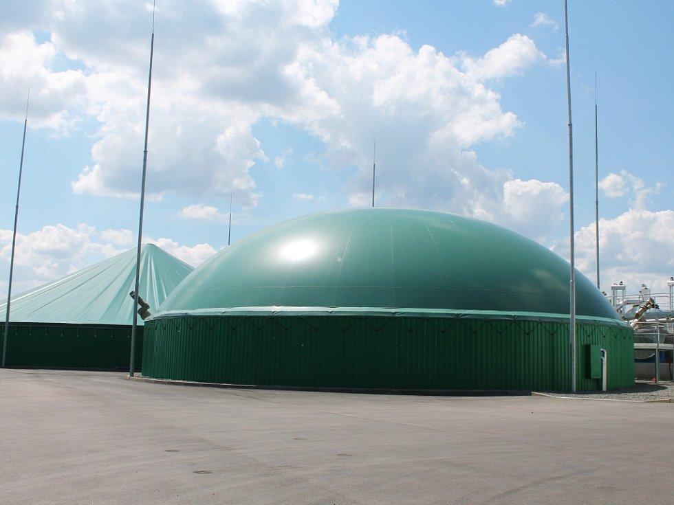 Vyškovská bioplynová stanice. Ilustrační foto.