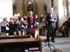 Rousínovský sbor Danielis funguje už čtrnáct let a v repertoáru má více než sto padesát skladeb.