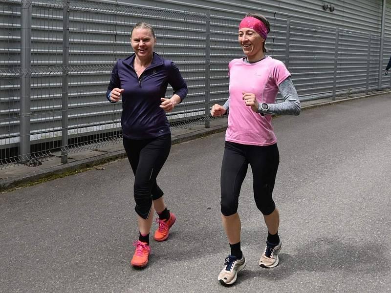Silvie Divišová (vlevo) a Lenka Hrabovská.