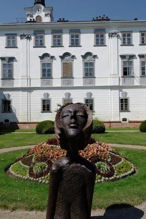 Zámecká zahrada v Lysicích.