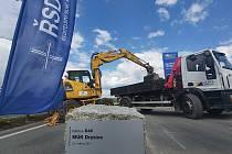 Zahájení přestavby mimoúrovňové křižovatky D46 v Drysicích.
