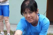 Anna Málková stále běhá závody veteránů, ale hlavně je trenérkou mládeže v Jednotě Orel Vyškov.