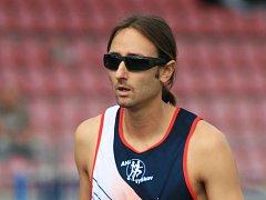 Loňský vítěz atlet Jiří Němeček.