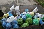 Zástupci spolku Zelený Vyškov ve spolupráci s dobrovolníky loni ve městě nasbírali odhadem tři sta kilogramů odpadu. Foto: