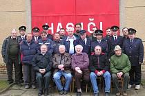 Sbor dobrovolných hasičů z Brankovic. Archivní snímek.