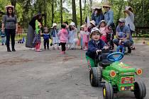 Nedělní odpoledne patřilo ve Vyškově rodinám s dětmi. Užily si kloboukovou slavnost.