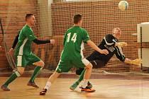 Finálový turnaj okresního kola Poháru futsalu vyhrál Pivovar Vyškov před Amorem Vyškov a FC Kloboučky.