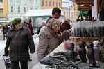 Trhy ve Vyškově. Ilustrační foto.