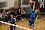 V prvním utkání čtvrtfinále play-off I. ligy porazili volejbalisté Sokola Bučovice Spartak Velké Meziříčí 3:0.
