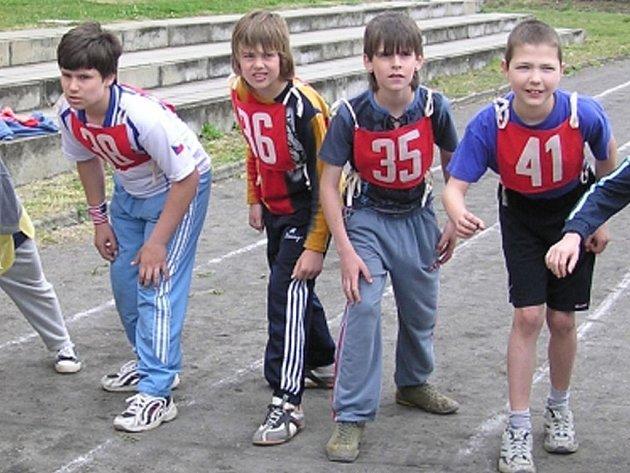 V sobotu mladí Sokolové soupeřili na přeborech v atletice.
