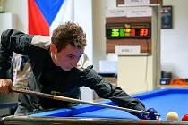 ¨Ondřej Hošek z Křenovic získal bronzovou medaili na mistrovství Evropy v kulečníku v Brandenburgu ve volné hře na velkém stole.