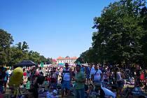 Stovky lidí přišly na slavkovský Pohádkoland.