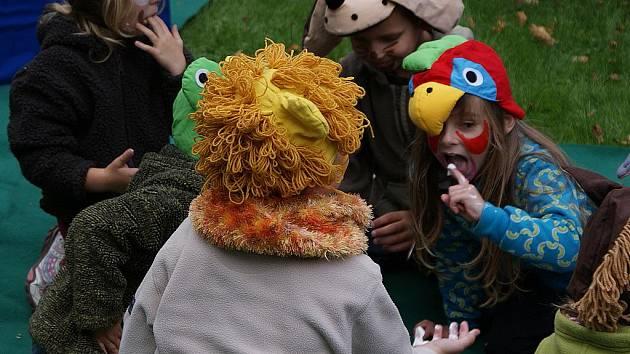 Děti oslavily Den zvířat.