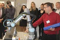 Nová učebna automatizace a robotizace.