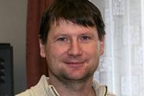 Prezident futsalového Amoru Vyškov Antonín Petlach.
