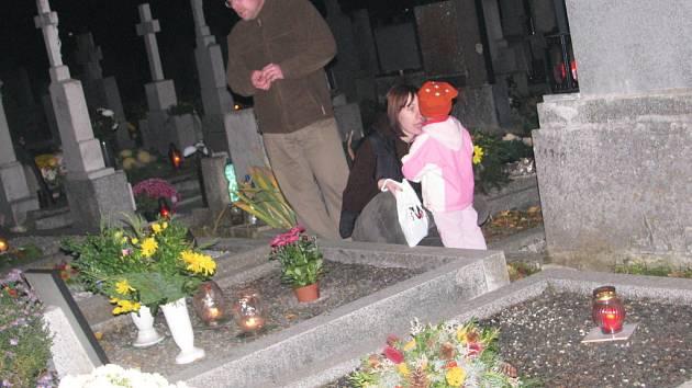Hřbitov ve vyškovské místní části Dědice.
