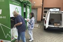 V Medlovicích vyřešili uzavření prodejny výdejním boxem.