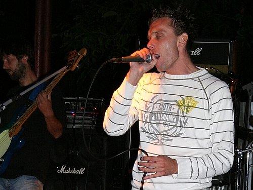 Frontman kapely Exit Jakub Koudelka.
