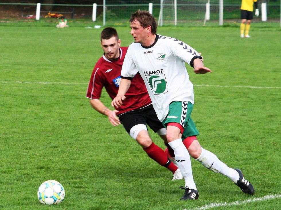 Miloš Žoček, dlouholetý kapitán fotbalového Tatranu Rousínov
