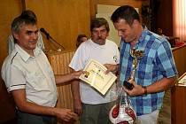 Rada členů Okresního fotbalu.