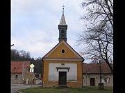 Kaple Žarošských v Bučovicích před rekonstrukcí.