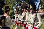 V Kučerově si prohlédli výstavy i vojáky v dobových uniformách.