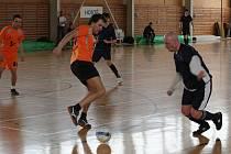 Futsalisté si to rozdali o postup do další fáze Poháru Českomoravského fotbalového svazu. Vyškovský tým zastavil překvapení z Bučovic.