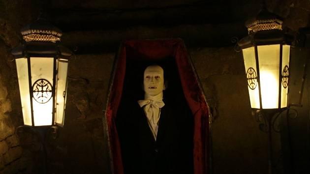 V zámeckém podzemí ve Slavkově u Brna se koná děsivá výstava s názvem Dracula a ti druzí.