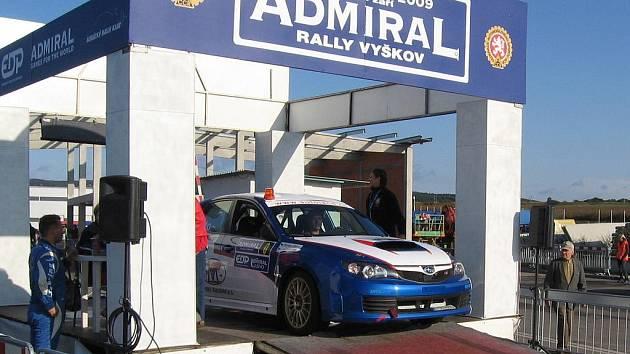 Admiral rally Vyškov