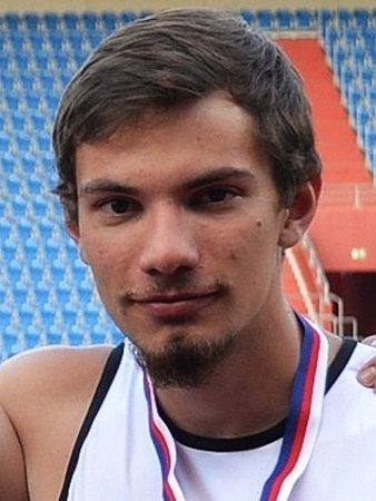 Atlet Filip Navrátil.