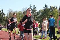 Účastníci běhu srdcem opět pomáhali. Pro onkologický nadační fond při Fakultní dětské nemocnici v Brně – Černých polích vybrali přes šedesát tisíc korun.