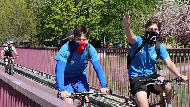 Do dalšího cyklu výzvy Do práce na kole se lidé mohou registrovat do konce dubna. Ilustrační foto.,