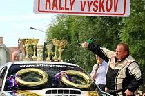 Rally Vyškov. Ilustrační foto.