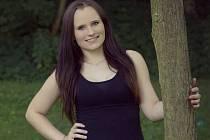 Trenérka mažoretek Andrea Kubesová.