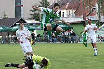 V dohrávce krajského přeboru porazili fotbalisté Framozu Rousínov Sokol Novosedly 2:1.
