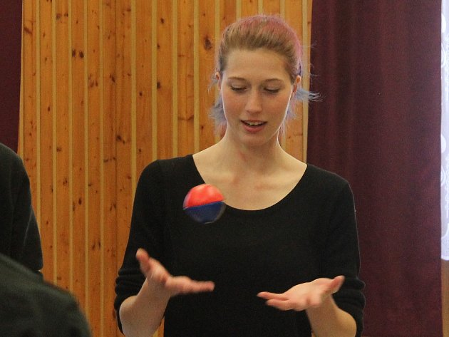 Ve vyškovském Majáku se konal další ročník workshopu s názvem Kejkle.