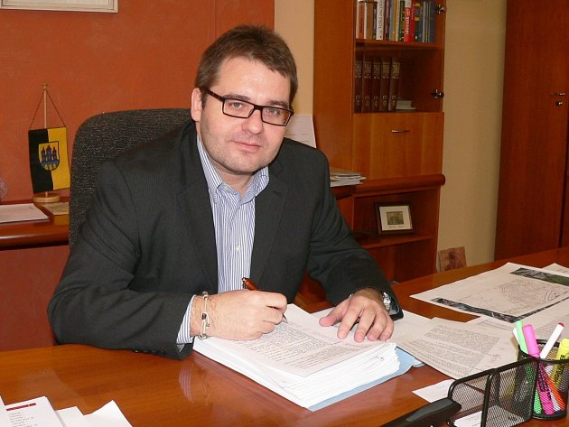 Starosta Vyškova Karel Goldemund.