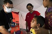 Anesteziolog Ondřej Hrdý na misi v přírodní katastrofou postiženém Nepálu.