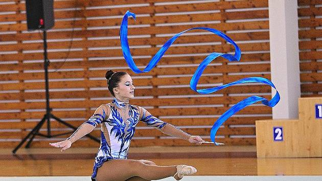 Gymnastka Veronika Nohelová.