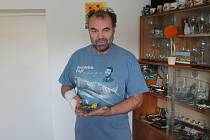 Modelář Jaromír Vrána