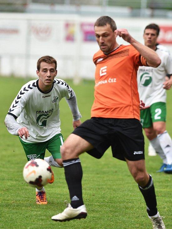 V utkání krajského přeboru fotbalistů prohrál Tatran Rousínov doma s FC Ivančice 0:3.