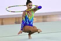 Moderní gymnastka Vyškova Veronika Nohelová.