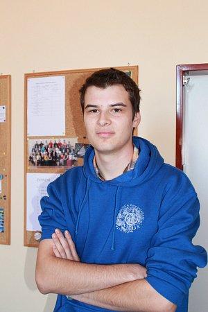 Student vyškovského gymnázia Luboš Vozdecký vyhrál soutěž EUCYS 2014pro mladé vědce.