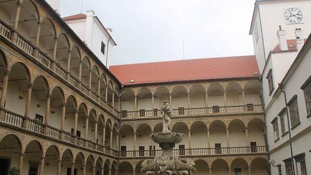 Zámek v Bučovicích. Ilustrační foto.