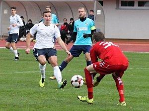Fotbalisté MFK Vyškov ztratili body s posledním HFK Olomouc